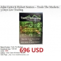 John Carter & Hubert Senters – Trade The Markets 3 Days Live Trading